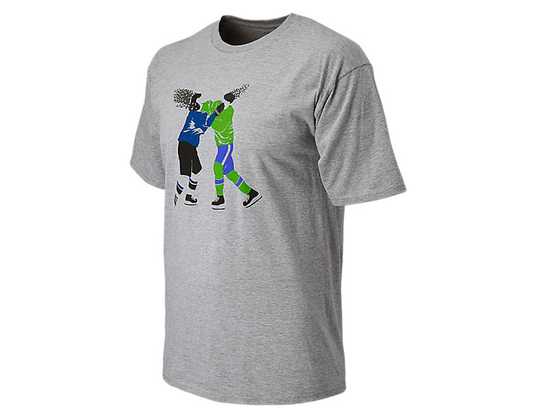 Hockey Fight Tee, Alloy