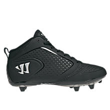 Burn Speed 5.0 Detach Cleat, Black with White & Silver