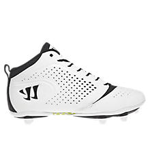 Burn Speed 5.0 Detach Cleat, White with Black