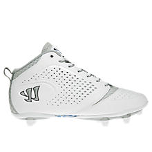 Burn Speed 5.0 Detach Cleat, White with Silver