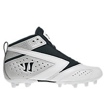 Burn 2nd Degree Cleat, White with Black & Silver