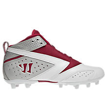 Burn 2nd Degree Cleat, Red with White & Silver