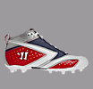Burn 2nd Degree Cleat - Summer Edition, Red with White & Blue