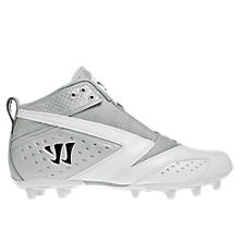 Burn 2nd Degree Cleat, White with Silver