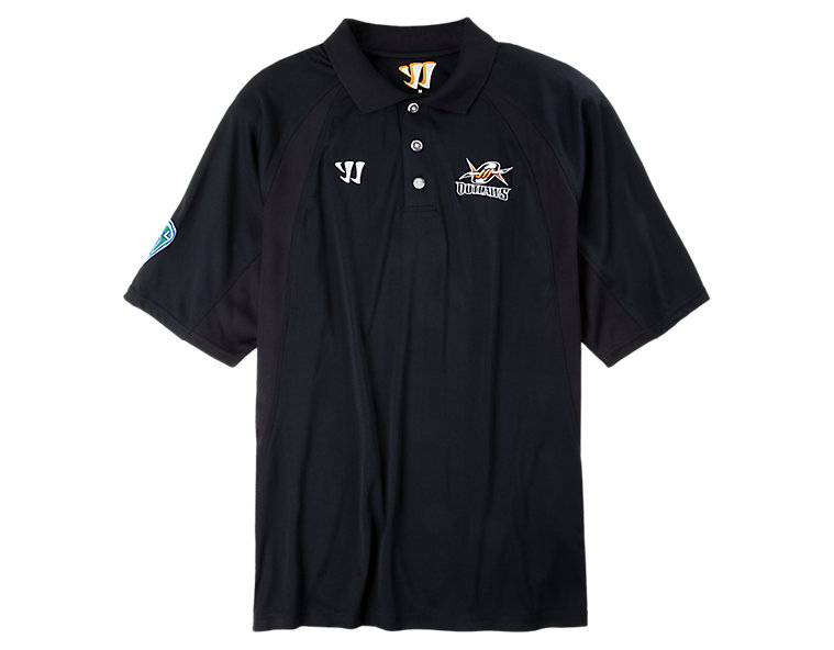 Denver Outlaws Polo Shirt, Black