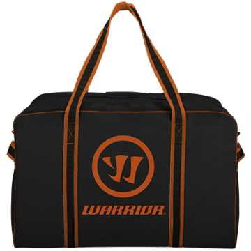 Warrior Pro Bag - Large, Black with Orange