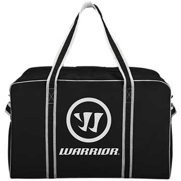Warrior Pro Bag - Medium, Black with White