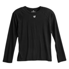 Youth LS Tech Tee, Black
