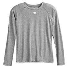 Youth LS Tech Tee, Grey