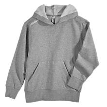 Youth Team Pullover Hoodie, Heather Grey