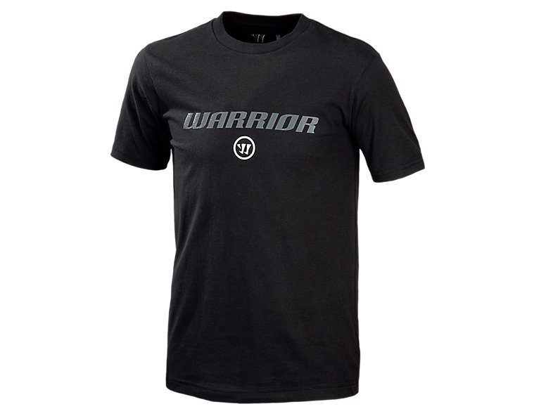 Youth Warrior Logo Tee, Black
