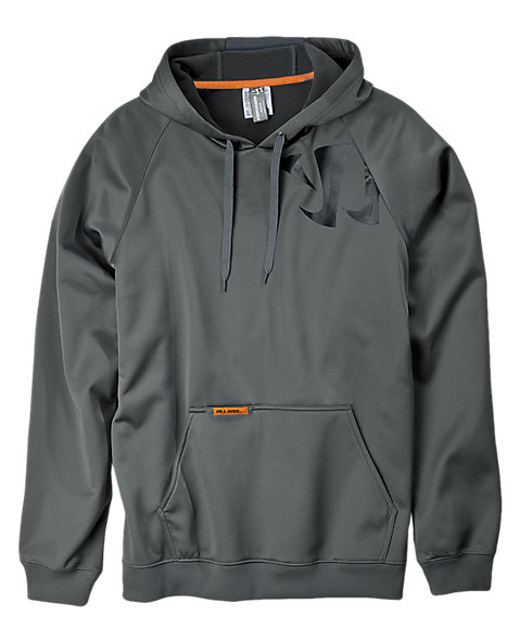 High-performance Pullover, Asphalt Grey with Black