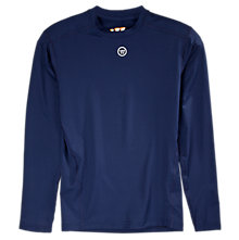 Basic LS Compression Top, Navy