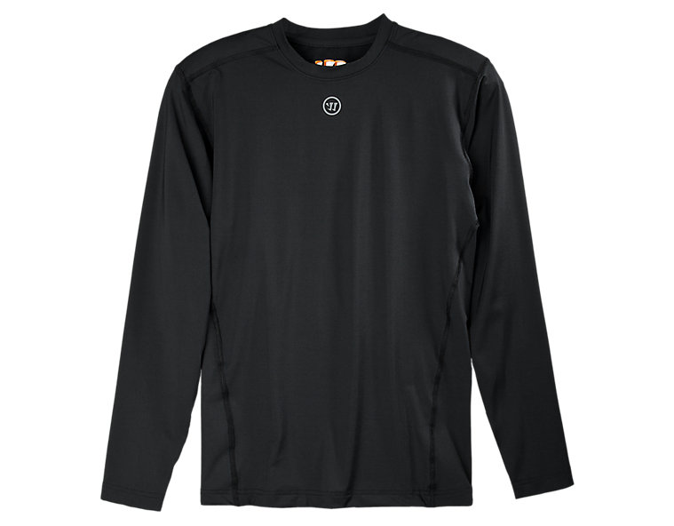 Basic LS Compression Top, Black