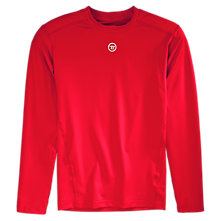 Basic LS Compression Top, Red