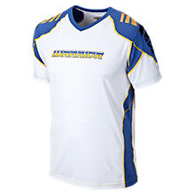 Raditude SS Training Top, White
