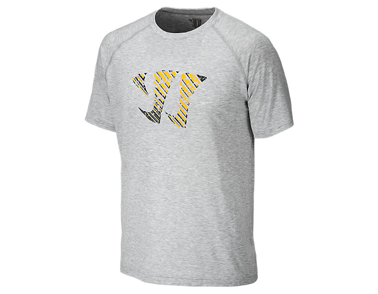 Splat Tech Tee, Athletic Grey