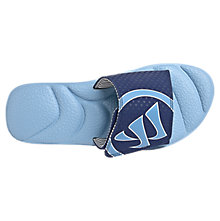 Adonis Slide, Blue with Navy