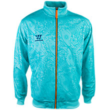 Skreamer Training Track Jacket, Blue with Blue & Orange