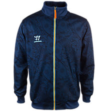 Skreamer Training Track Jacket, Insignia Blue with Blue Radiance & Bright Marigold