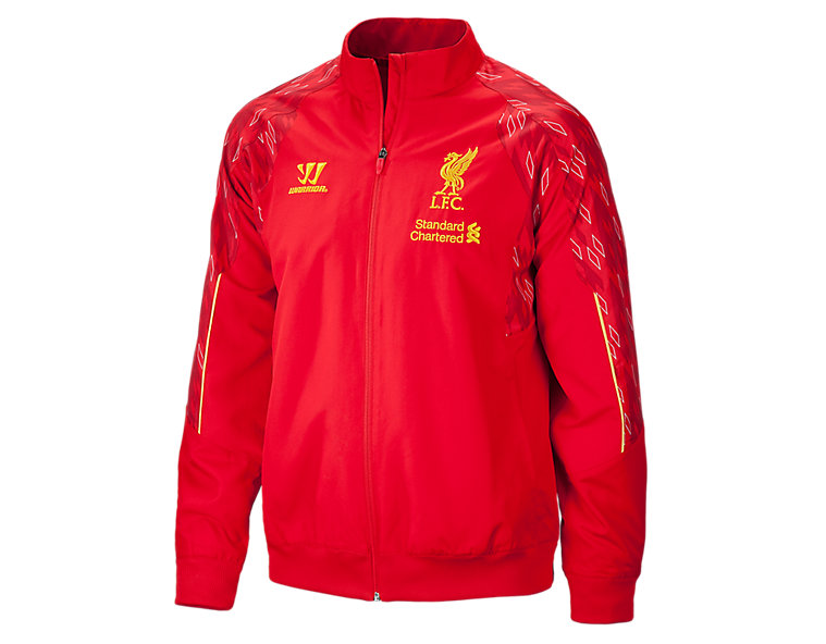 Liverpool Training Presentation Jacket 2013/14, High Risk Red