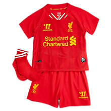 Liverpool Home Baby Set 2013/14, High Risk Red with White & Amber Yellow