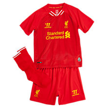 Liverpool Home Infant Set 2013/14, High Risk Red with White & Amber Yellow