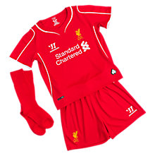 Liverpool Home Infant Set 2014/15, High Risk Red