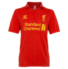 Home Junior Short Sleeve Jersey 2012/13, High Risk Red