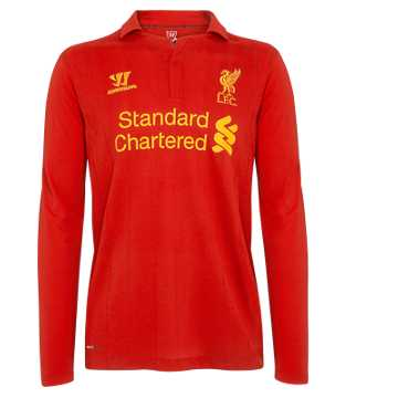 Home Long Sleeve Jersey 2012/13, High Risk Red