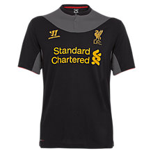 Away Short Sleeve Jersey 2012/13, Black with Raven Grey