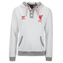 LFC Hoody, White with Grey & High Risk Red