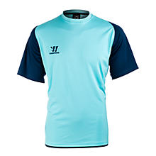 Skreamer Training SS Jersey, Blue Radiance with Insignia Blue & Bright Marigold