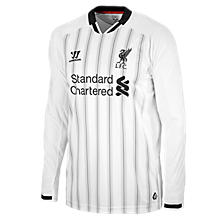Liverpool Home Goal Keeper Jersey 2013/14, White with Anthracite