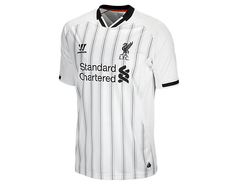 Liverpool Home Goal Keeper S/S Jersey 2013/14, White with Anthracite