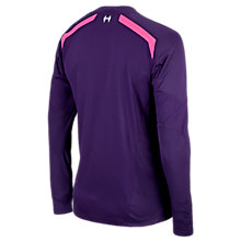 Liverpool Away Goalkeeper LS Jersey 2013/14, Purple with Purple & Pink