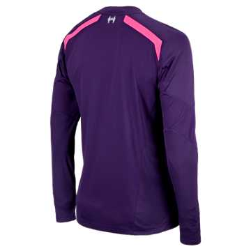 Liverpool Away Goalkeeper LS Jersey 2013/14, Blackberry Cord with Prism Violet & Fluorescent Pink