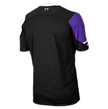Liverpool 3rd Short Sleeve Jersey 2013/14, Grey with Purple & White