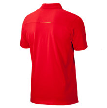 Liverpool Training Polo Shirt 2013/14, High Risk Red with Micro Chip