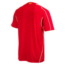 Liverpool Home Short Sleeve Jersey 2014/15, Red