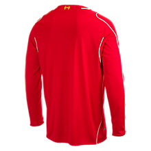 Liverpool Home Long Sleeve Jersey 2014/15, Red