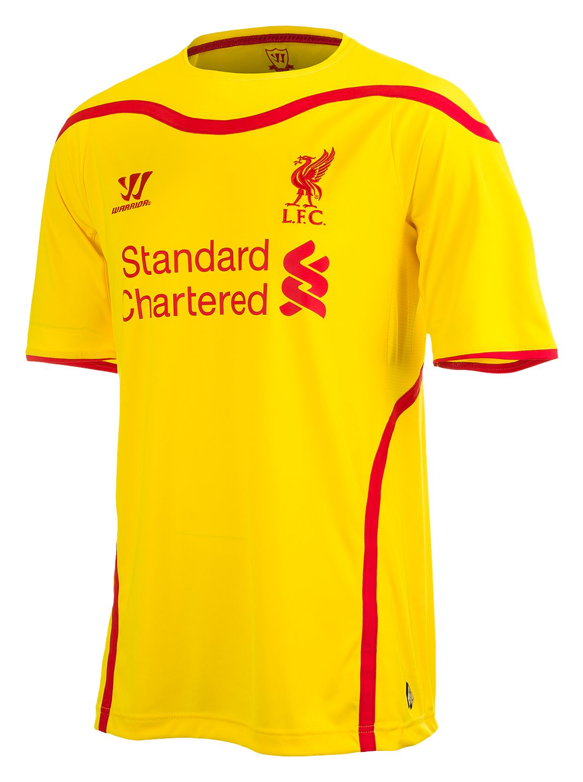 ae080a63c Warrior - Liverpool Away Short Sleeve Jersey 2014 15