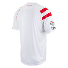 Sevilla Home Short Sleeve Jersey 2014/15, White