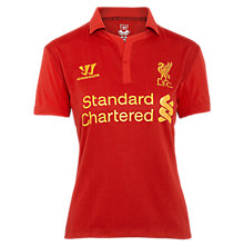 Home Ladies Short Sleeve Jersey, Red