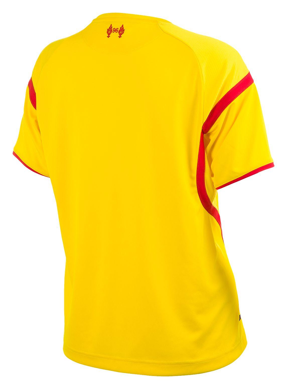 6cde015833d Warrior - Liverpool Away Ladies Short Sleeve Jersey 2014 15