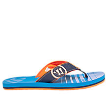 Riot Thong Sandal, Blue with Navy
