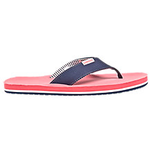 Swag Thong Sandal, Navy with Pink