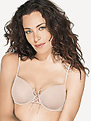 Petite Lace Up Push Up Underwire Bra 75627