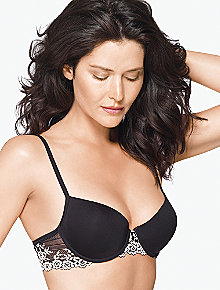 Embrace Lace Petite Push Up Underwire Bra 75891