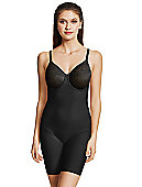 Visual Effects Thigh Shaper Bodysuit with Minimizer Bra 802210